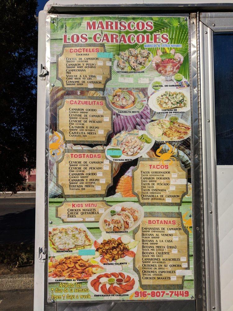 Mariscos Los Caracoles: 5908 Stockton Blvd, Sacramento, CA