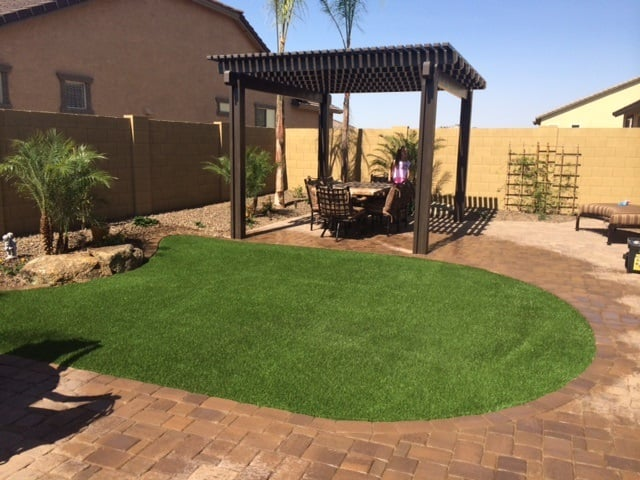 Photo Of Midwest Landscaping   Phoenix, AZ, United States. Artificial Grass,  Paver
