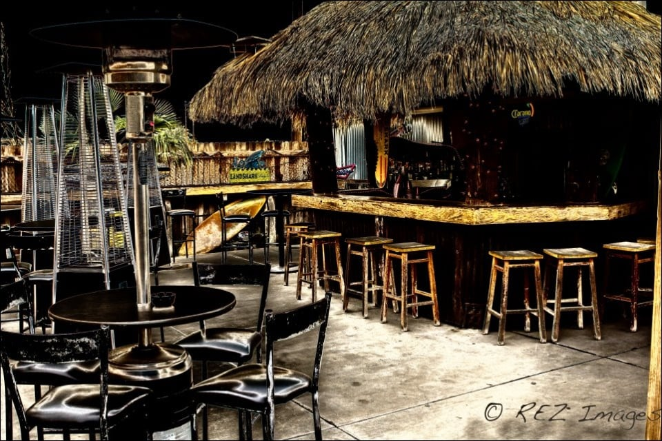 The outdoor palapa bar. - Yelp on Palapa Bar Backyard id=22667
