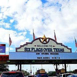 Six Flags Over Texas - 2201 Road To Six, Arlington, TX