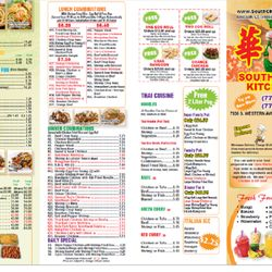 Photo Of South China Kitchen Two   Chicago, IL, United States. New Menu