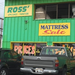 Ross Appliances Green Bed Company 47 Reviews Furniture Stores 401 Mokauea St Kalihi