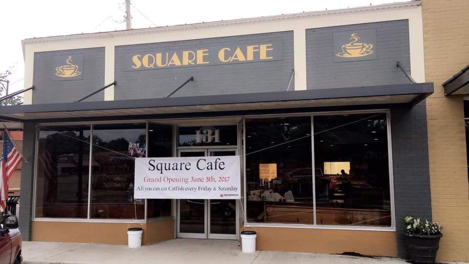Square Cafe: 131 Public Square, Batesville, MS