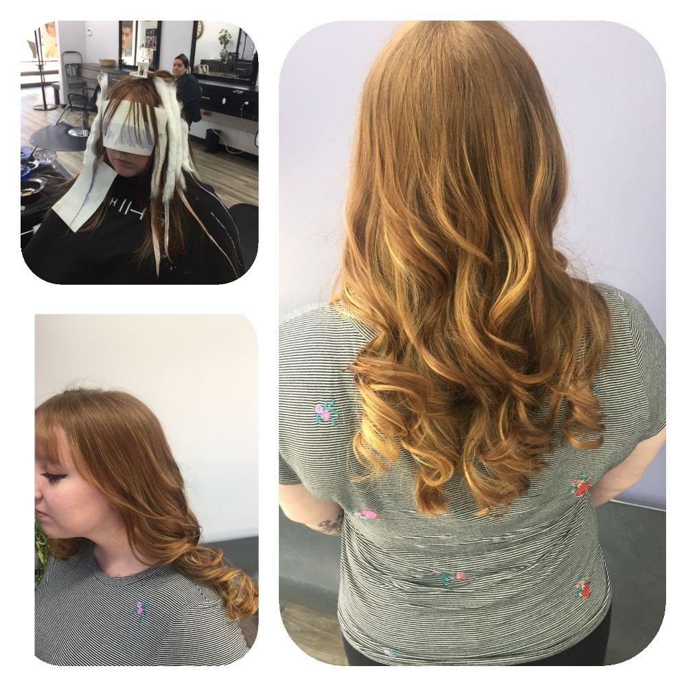 Balayage And A Fresh Cut Makeover Is In The Air Fabulous