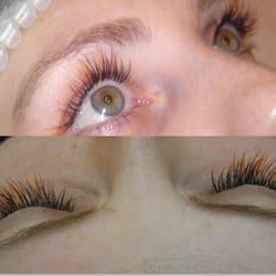 4713db5c6b9 Photo of Designer lashes - London, United Kingdom. Customer wanted splashes  of colour