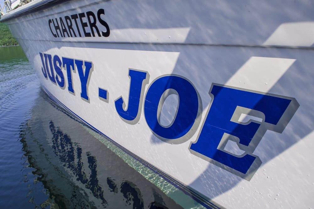 Justy-Joe Charters: 1 Dock Rd, Hague, NY
