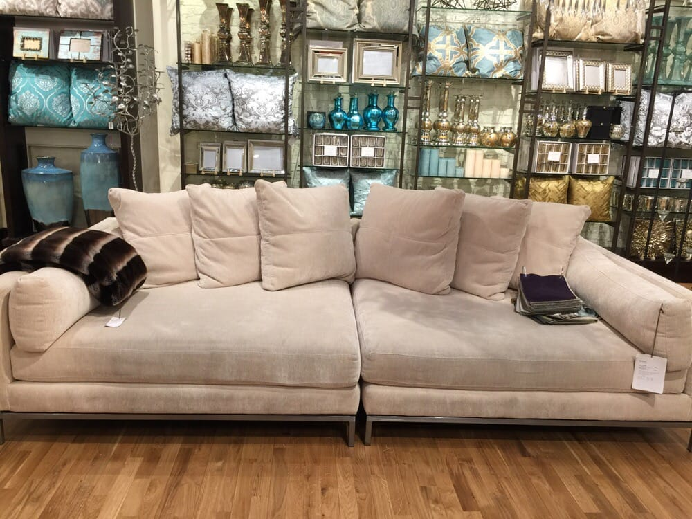 z gallerie sofas del mar sectional sofa chic couch z