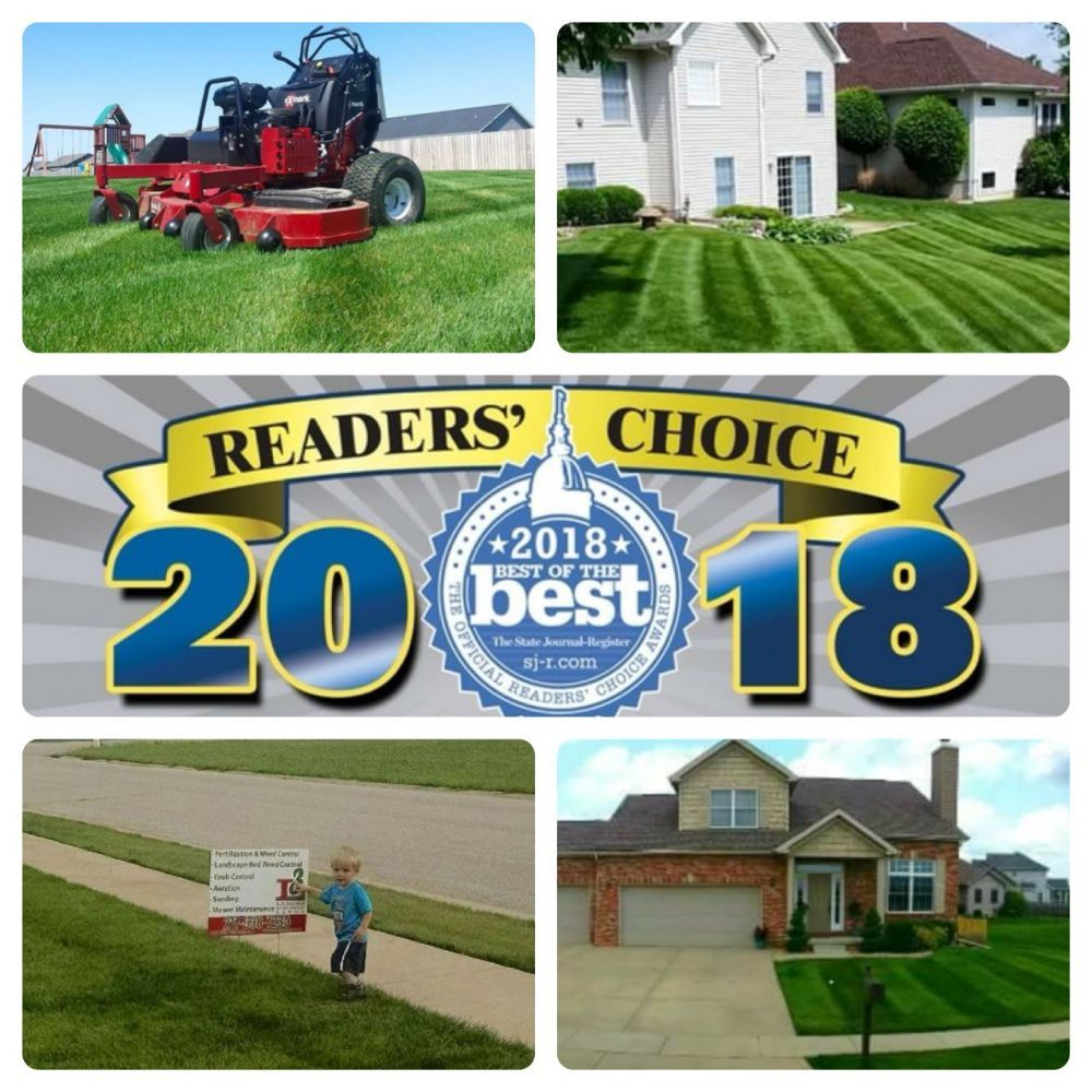 Ladage's Luxurious Lawns: 917 Deerfield Rd, Chatham, IL