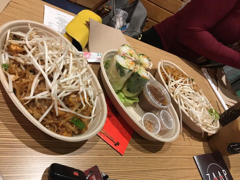 Food from Zaap Kitchen Lao & Thai Street Eats