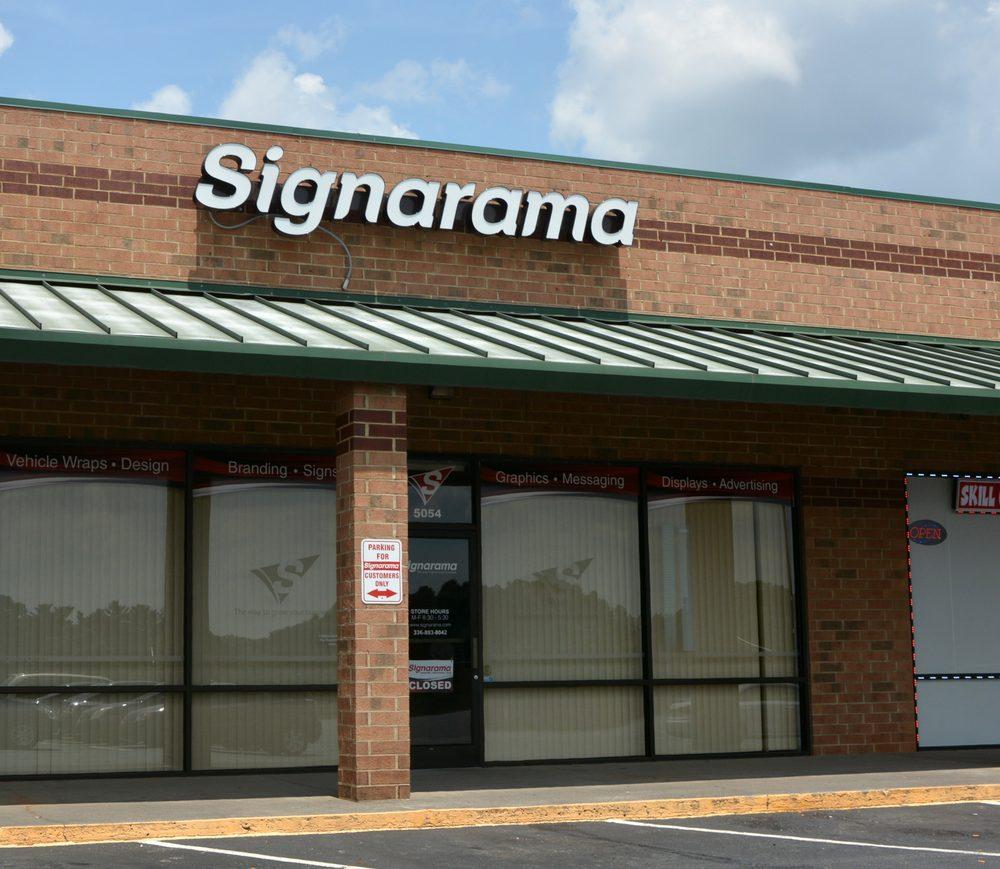 Signarama Clemmons: 5054 Styers Ferry Rd, Lewisville, NC