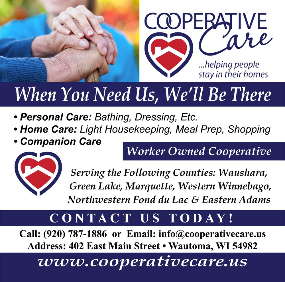 Cooperative Care: 402 E Main St, Wautoma, WI