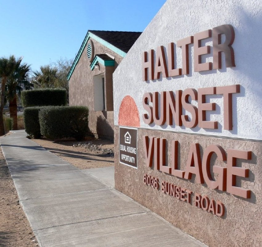 Halter Sunset Village Apartments - Front Gate - Yelp