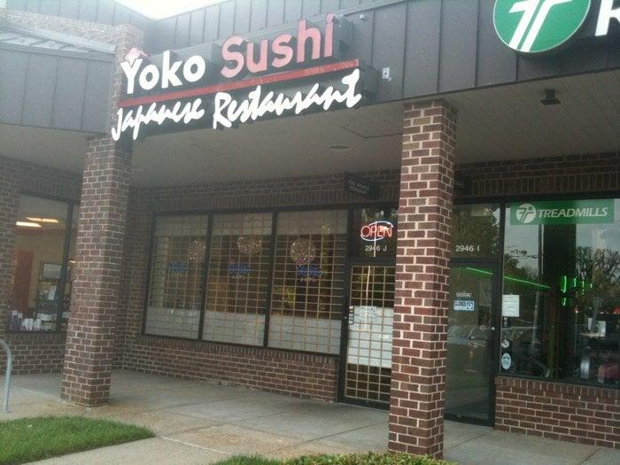 Yoko Japanese Restaurant Oakton Va