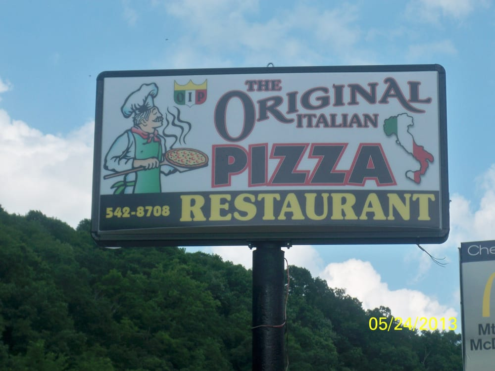 The Original Italian Pizza: 238 US Hwy 22, Mount Union, PA