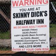 Dick halfway inn skinny