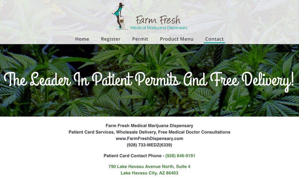 Farm Fresh Medical Marijuana Dispensary: 790 N Lake Havasu Ave, Lake Havasu City, AZ