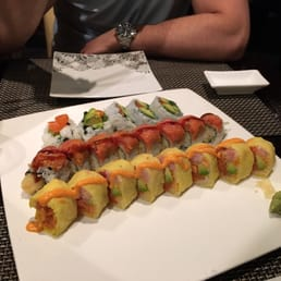 Kumo Japanese Restaurant - Pearl River, NY, United States. Lots of good fun sushi options!
