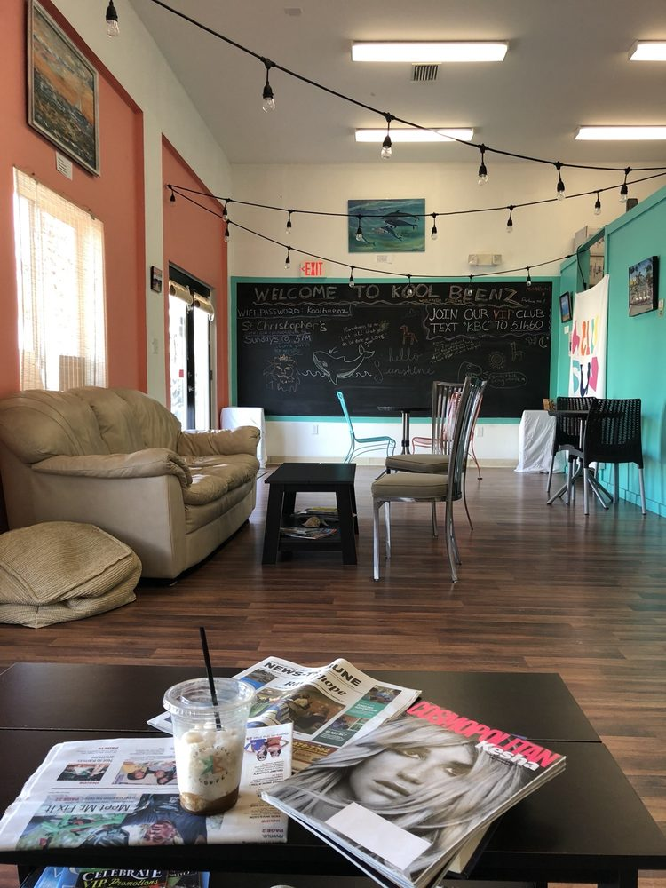 Kool Beenz Coffee: 1842 A S Oceanshore Blvd, Flagler Beach, FL