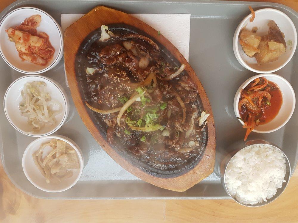 Food from Kbop Korean Bistro