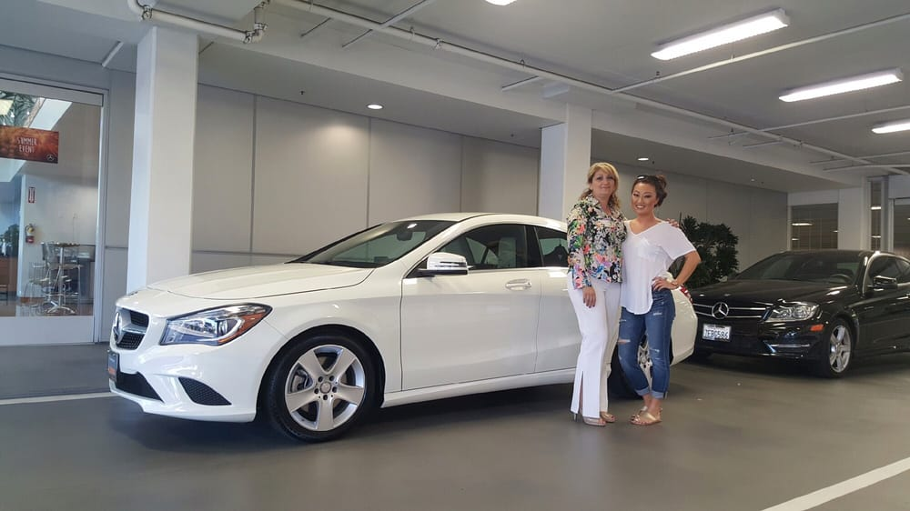 My new 2016 mbz cla yelp for Mercedes benz of encino