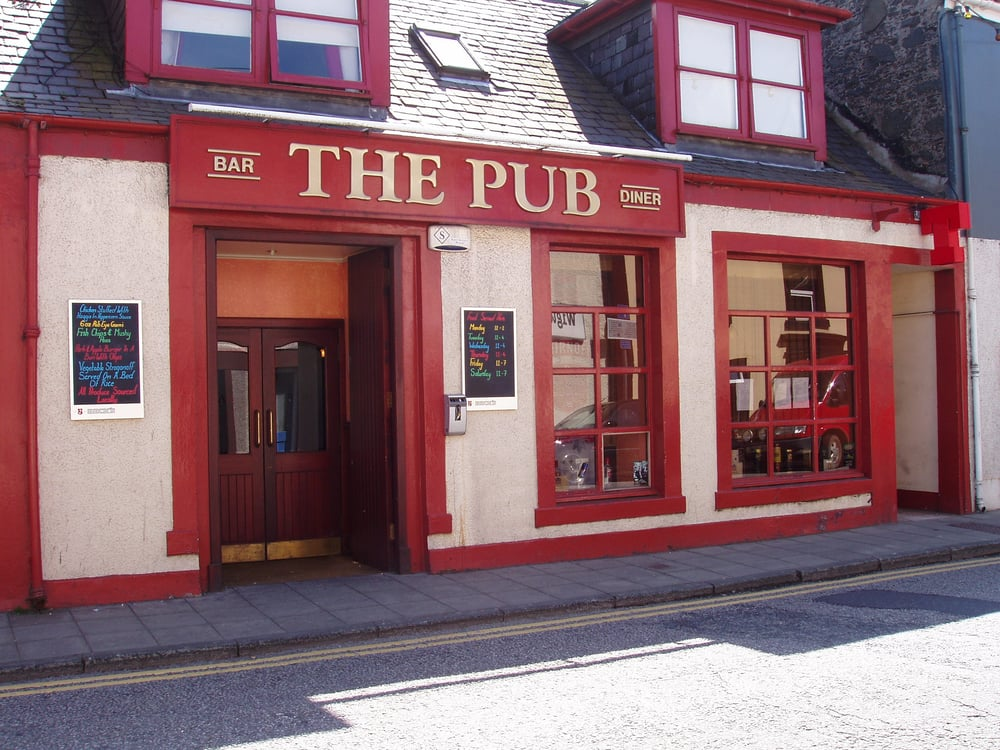 The Pub: 3 Hanover Street, Stranraer, DGY