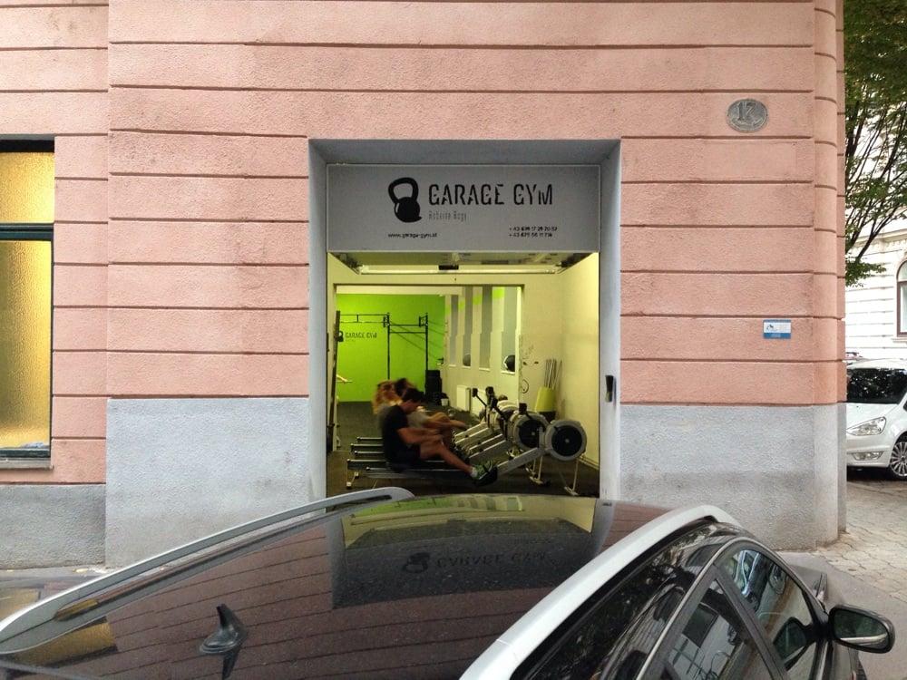 Garage gym palestre rasumofskygasse landstraße