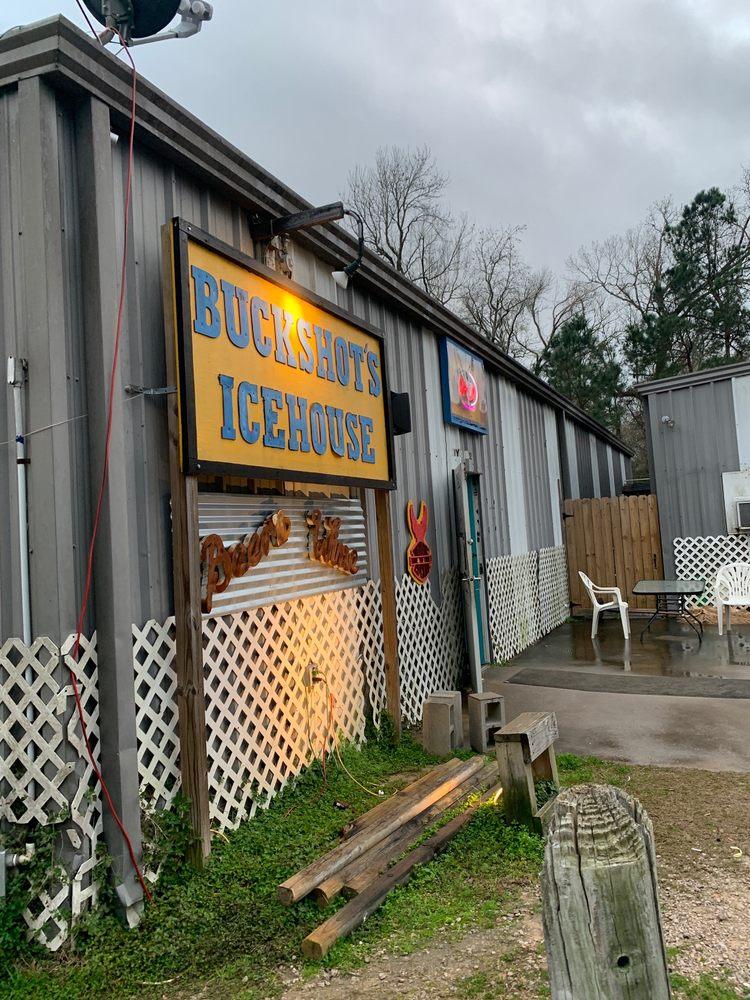 Buckshot's Icehouse: 11552 US Hwy 190 E, Point Blank, TX