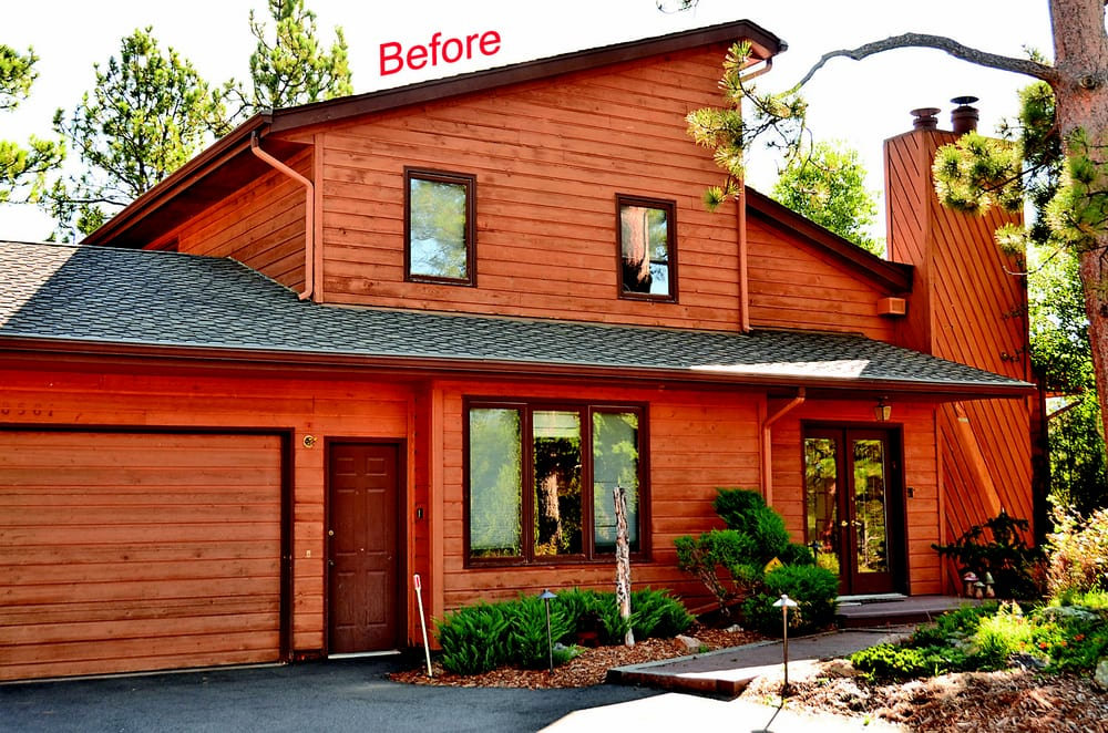 Before New Windows And Siding Evergreen Co Yelp