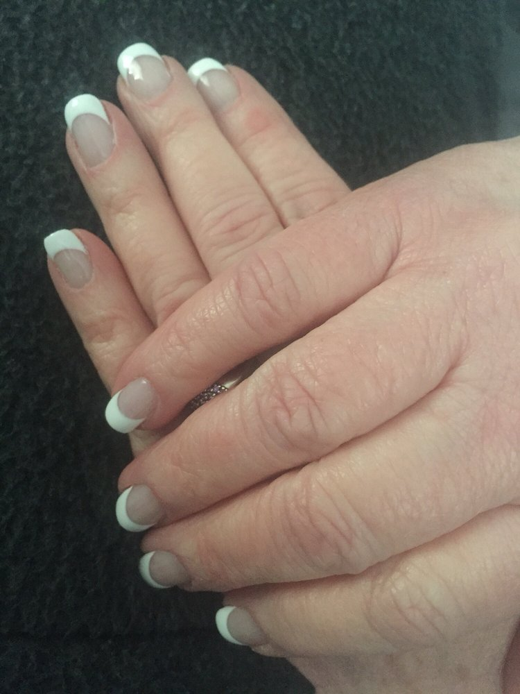 Classy Nails did a great job. Did gel French nails just the way I ...