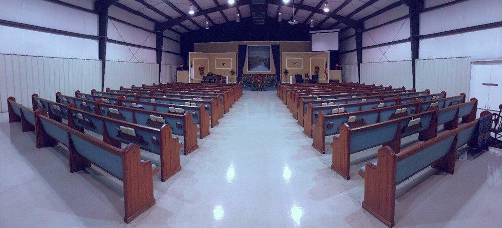 Sunswept Baptist Church: 205 S Sunswept St, Union City, TN