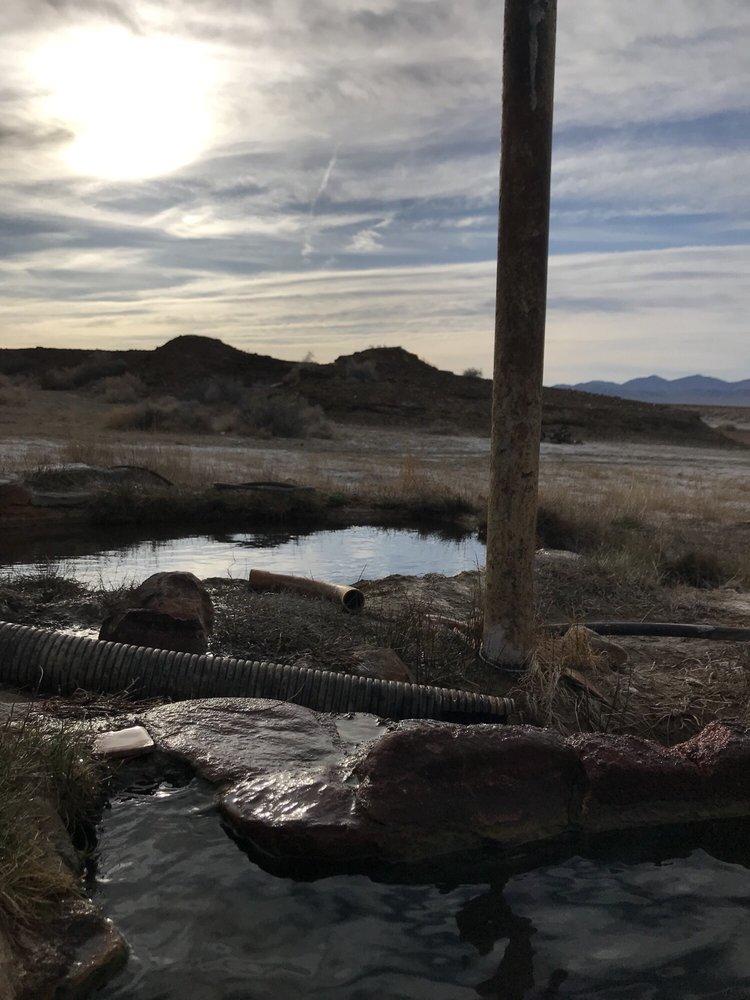 Alkali Hot Springs: Sloan, NV