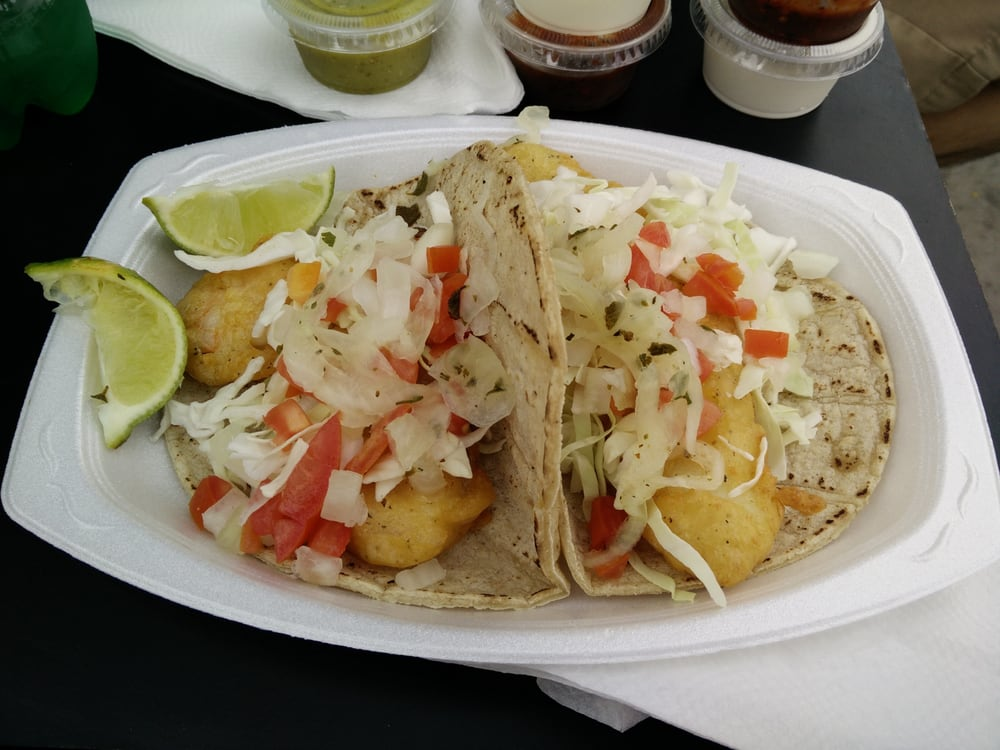 Mi ensenada fish tacos 20 photos 19 reviews food for Fish taco restaurant