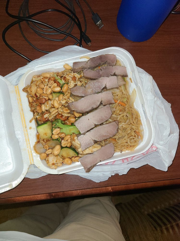 Food from David's Chinese Restaurant