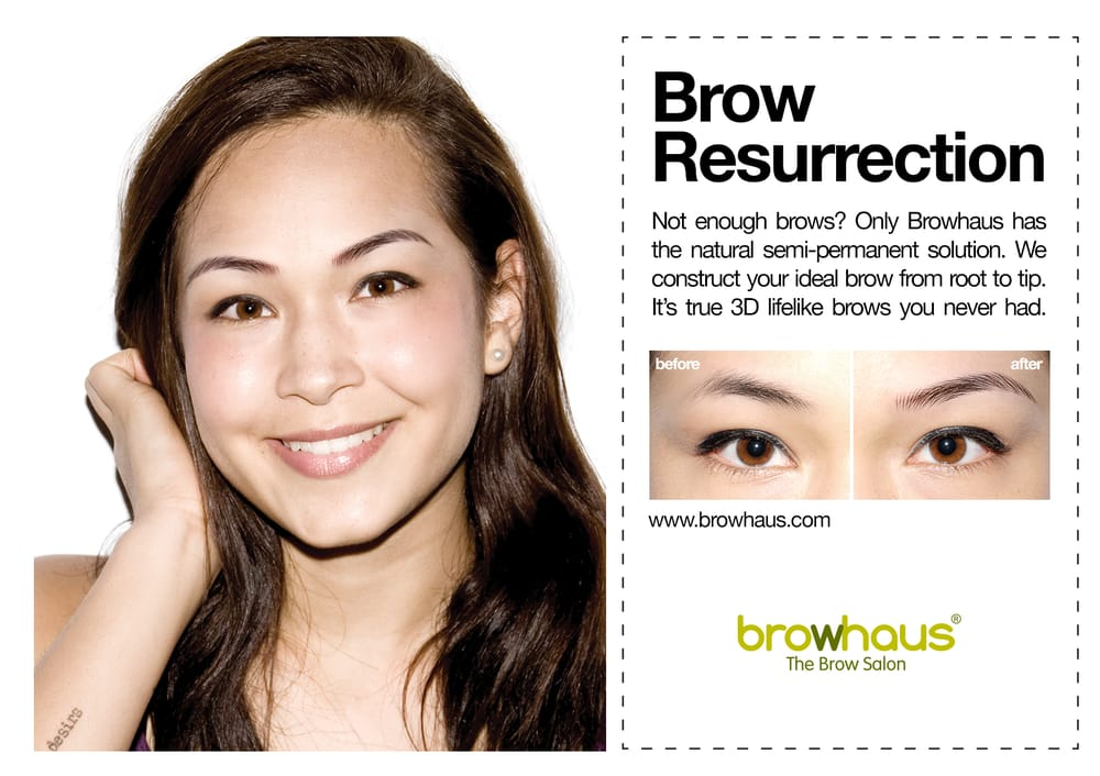 Photo of Browhaus - New York, NY, United States. Microblading but we like to call it Brow Resurrection for this semi-permanent treatment!