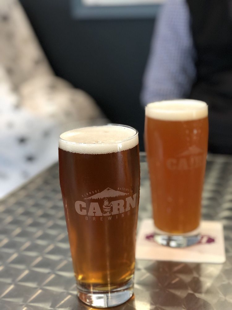 Food from Cairn Brewing