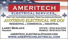 Ameritech Electrical Services: 15130 Marsh Ln, Addison, TX