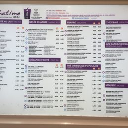 Photos for Chatime | Menu - Yelp