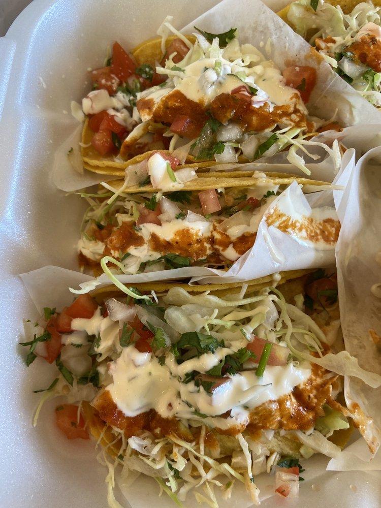 Food from Tacos Bahia Fish