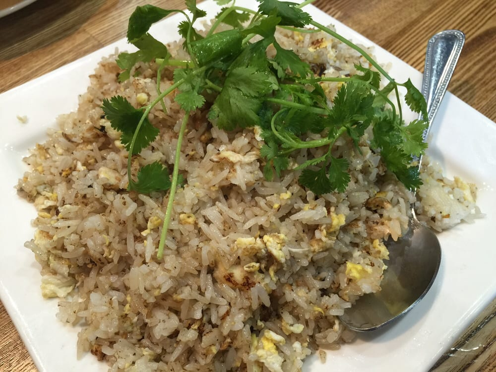 Com chien ca man salted fish fried rice yelp for Fish fried rice
