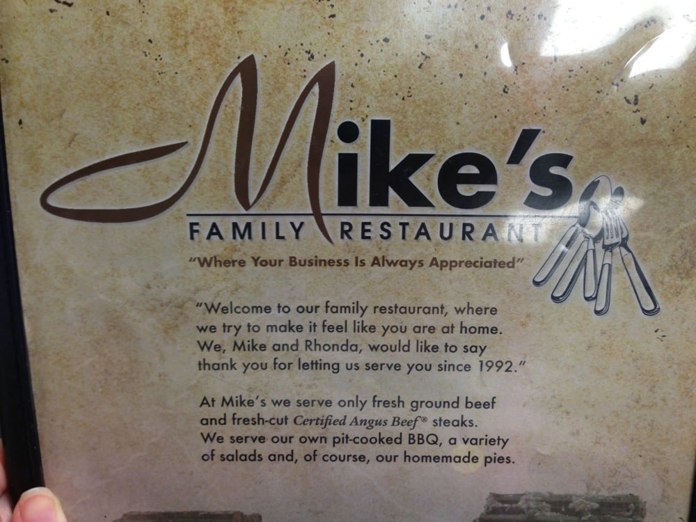 Mike's Family Restaurant: 49 Old Military Rd W, Colt, AR