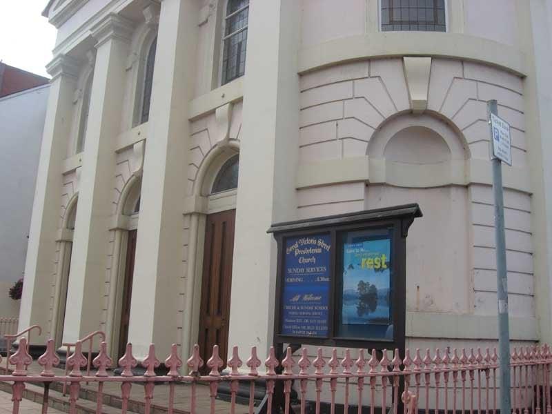 Great Victoria Street Presbyterian Church   129 Great Victoria Street, Belfast BT2 7   +44 28 9066 7107