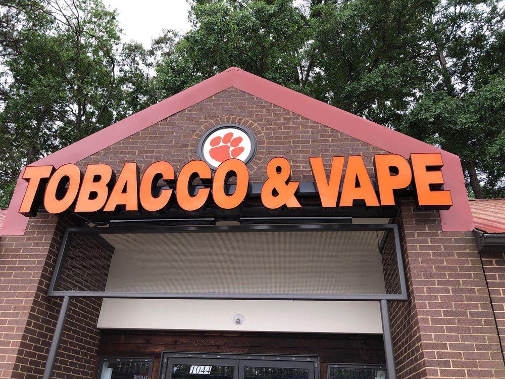 CU Tobacco & Vape: 1044 Tiger Blvd, Clemson, SC