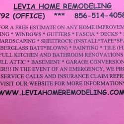 Bathroom Remodeling Voorhees Nj levia home remodeling - contractors - 1202 haddonfield berlin rd