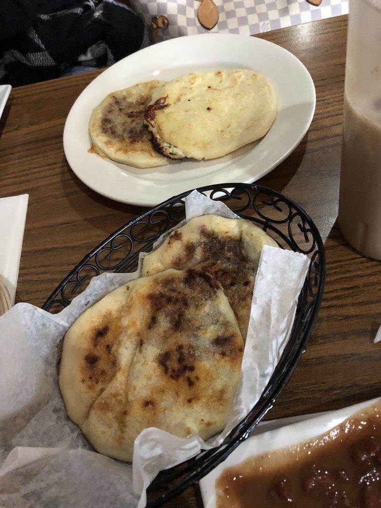 Food from El Salvadoreño Restaurant