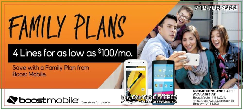 Boost Mobile - Infinitycells - Mobile Phones - 1163 Utica