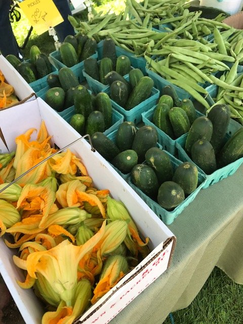 Clinton Farmer's Market: Clinton Village Green, Clinton, NY