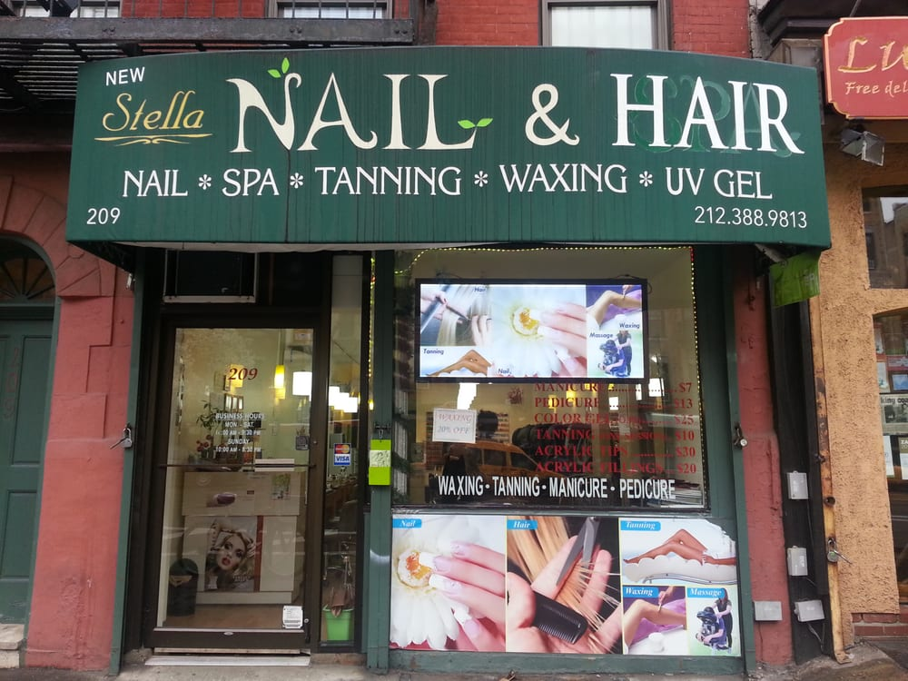 New stella nail hair inc has tanning nail spa 20 off for 24 hour tanning salon nyc