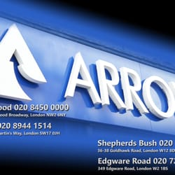 arrow electrical trade discount centre wholesale 349 edgware