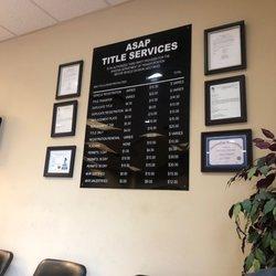 3rd Party Dmv >> Asap Title Services 38 Reviews Registration Services 8729 S
