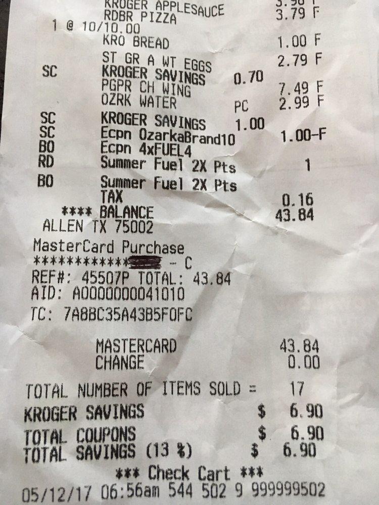 photo of kroger allen tx united states digital coupons uploaded